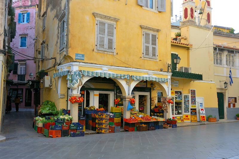 The Corfu Town is worth at least one visit