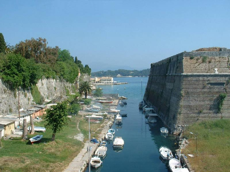 Corfu Town - the old fortress