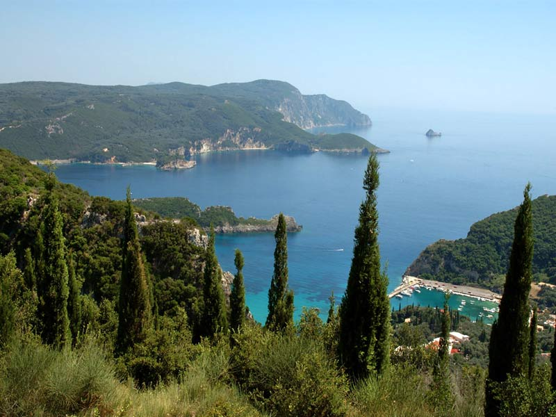 Corfu is one of the most famous places in Greece